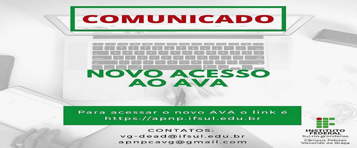 Novo Acesso Ambiente Virtual APNP